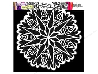 The Crafter's Workshop Template 12 x 12 in. Bug Doily