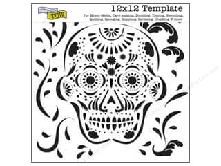 The Crafters Workshop Template 12x12 Mexican Skull