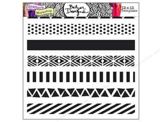 The Crafter's Workshop Template 12 x 12 in. Pattern Strips