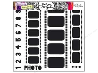 Clearance The Crafters Workshop Template: The Crafter's Workshop Template 12 x 12 in. Film Strips
