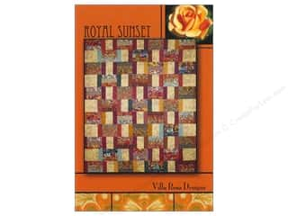 Quiltsillustrated.com Jelly Roll Patterns: Villa Rosa Designs Royal Sunset Pattern