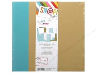 Scrapbook / Photo Albums 2 1/2 in: Simple Stories SN@P! Binder  6 x 8 in. Teal