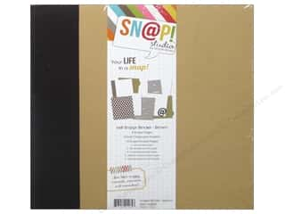 "Chipboard Albums: Simple Stories Album Binder Snap 6""x 8"" Brown"
