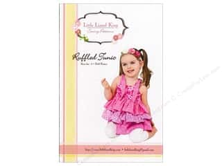 Sew Tea Girls $5 - $6: Little Lizard King Ruffled Tunic Sizes 6M-10 Pattern