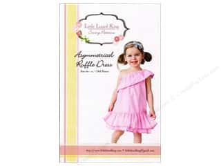 Lark Books $6 - $10: Little Lizard King Asymmetrical Ruffle Dress Sizes 6M-10 Pattern