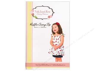 Sew Tea Girls $5 - $6: Little Lizard King Ruffle Swing Top Sizes 6M-10 Pattern