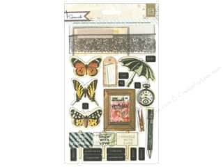 BasicGrey Sticker Chipboard Serenade