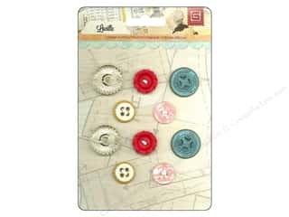 BasicGrey Buttons Vintage Lucille