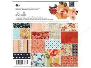 BasicGrey Paper Pad 6&quot;x 6&quot; Lucille