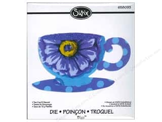 Sizzix Bigz Die Tea Cup &amp; Saucer