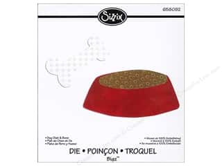 Sizzix Bigz Die Dog Dish & Bone by Debi Potter