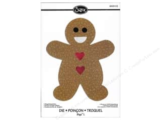 Sizzix Bigz L Die Gingerbread Man by Rachael Bright