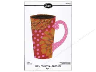 Tea & Coffee inches: Sizzix Die Bigz L Mug Tall by Rachael Bright