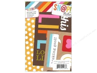 Simple Stories $4 - $6: Simple Stories SN@P! Cards 4 x 6 in. Snappy Sayings