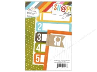 Simple Stories $4 - $6: Simple Stories SN@P! Cards 4 x 6 in. Snappy Thoughts