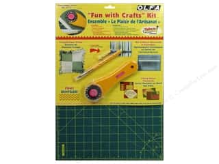 Olfa Rotary Cutter &amp; Mat Set Fun With Crafts Kit