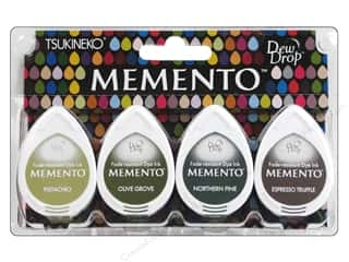 Tsukineko Memento Dew Drop Stamp Pad Set Central Park