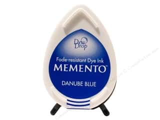 Tsukineko Memento Ink Dew Drop Danube Blue