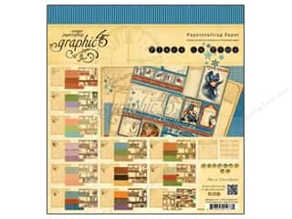 Graphic 45 Place in Time 8 x 8 in. Paper Pad