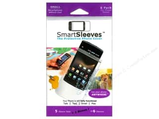 Page Protectors Basic Components: ClearBags SmartSleeves for Smartphones 6 pc. Small