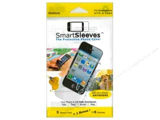 Page Protectors Basic Components: ClearBags SmartSleeves for Smartphones 6 pc. Medium
