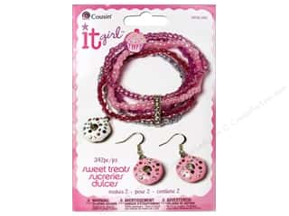 Earrings Clear: Cousin Kit It Girl Sweet Treats Donuts