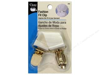 Dritz Clip Fashion Fit Clip Cream