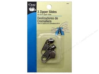 Dritz Zipper Repair Slides Nickel 3pc