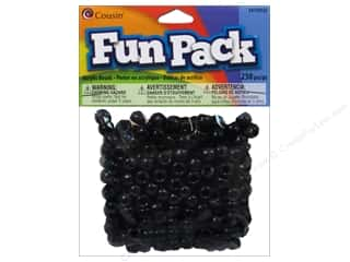 Beads Black: Cousin Bead Fun Pack Pony Black 250pc