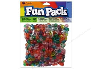 Cousin Bead Fun Pack Pony Transparent Rainbw 700pc