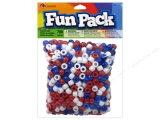 Cousin Bead Fun Pack Pony Red White Blue 700pc