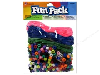 pony bead: Cousin Bead Fun Pack Party Assortment Rainbw 515pc