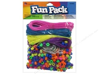pony bead: Cousin Bead Fun Pack Party Assortment Neon 515pc