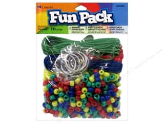 Party Supplies Green: Cousin Bead Fun Pack Party Assortment Primary 515pc