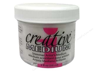 Toner Glues/Adhesives: Imagine Crafts Creative Medium Shimmer 2oz