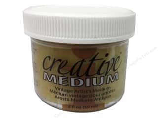 Toner Glues/Adhesives: Imagine Crafts Creative Medium Vintage 2oz