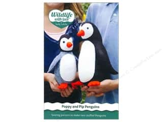 Betz White $10 - $11: Wildlife with Love by Betz White Poppy And Pip Penguins Pattern