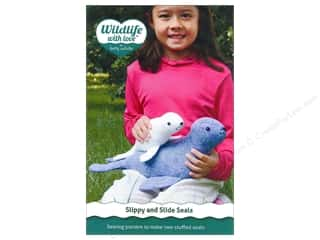 Doll Making Baby: Wildlife with Love by Betz White Slippy And Slide Seals Patterns
