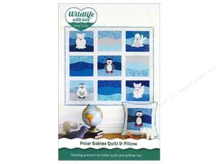 Blend Animals: Wildlife with Love by Betz White Polar Babies Quilt & Pillow Pattern