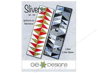 G.E. Designs GE Designs Books: GE Designs Slivers Runner Pattern