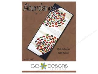G.E. Designs Clearance Patterns: GE Designs Abundance Runner Pattern