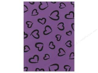 Bottles Hearts: Kunin Felt 9 x 12 in. Fancifelt Princess Heart Violet Sky (24 pieces)