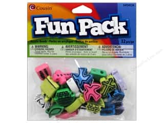 Party Supplies Toys: Cousin Bead Fun Pack Christian 32pc