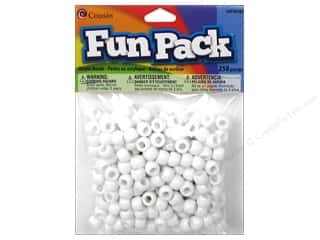 pony bead: Cousin Bead Fun Pack Pony White 250pc