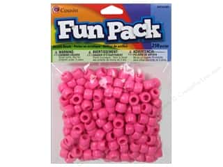 Cousin Bead Fun Pack Pony Pink 250pc