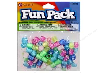 Cousin Bead Fun Pack Barrel Deco Multi 125pc
