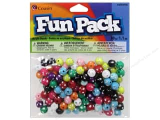 Cousin Bead Fun Pack Round Rhinestone Mix 1.1oz