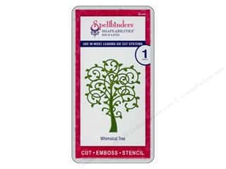 Spellbinders Shapeabilities Die D-Lites Whimsical Tree