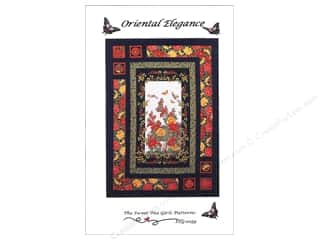 Gingham Girls Quilting Patterns: Sweet Tea Girls Oriental Elegance Pattern