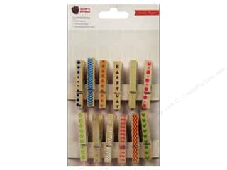 Crate Paper Embellishments Acorn Ave Clothespins